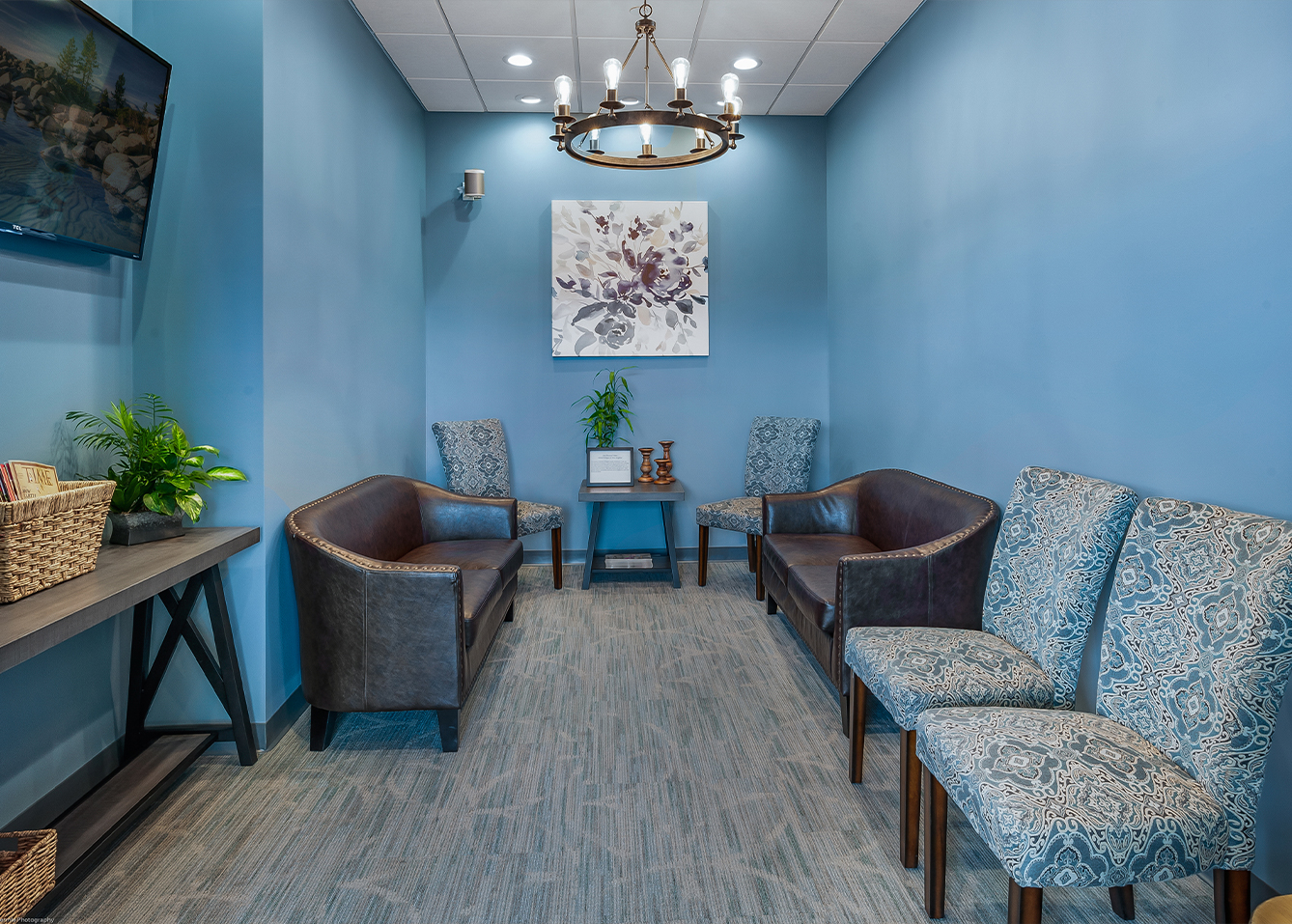 Dental Designs of New England waiting room