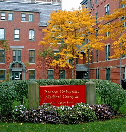 Boston University medical campus