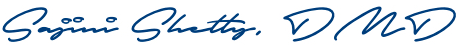 Dr. Jini Shetty signature